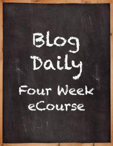 Blogging-Course